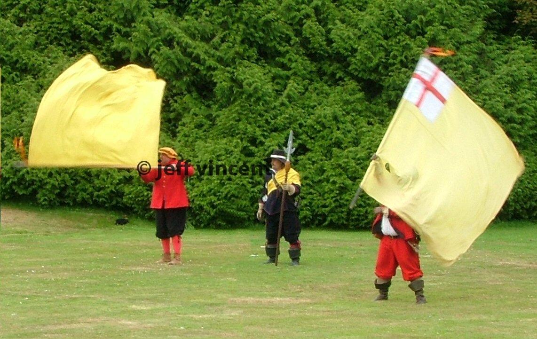 SK at Picton Castle July 2004