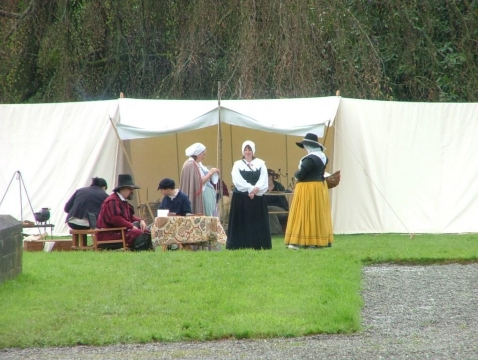 SK at Dinefwr Castle May 2005