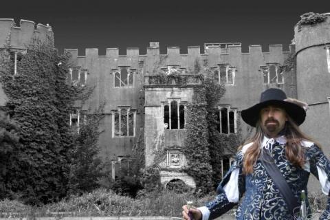 SK at Ruperra Castle Jun 2006