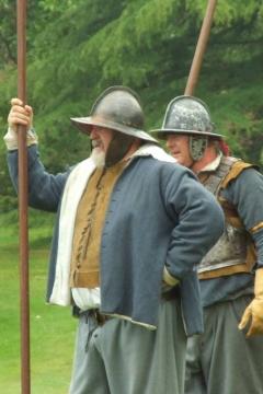 SK at Picton Castle July 2006