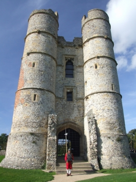SK at Donnington Castle Oct 2006