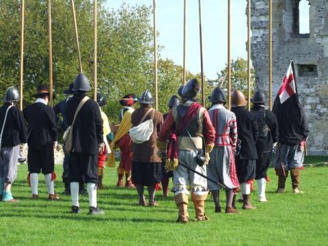 SK at Donnington Castle Oct 2006
