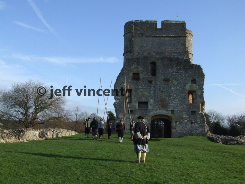 SK at Donnington Castle Jan 2007