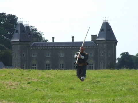 SK at Dinefwr Park Aug 2007