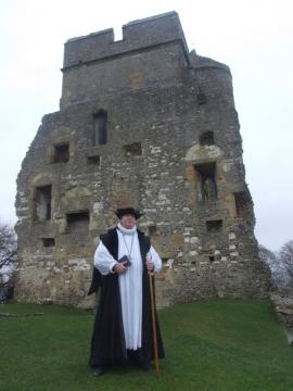 SK at Donnington Castle Jan 2008
