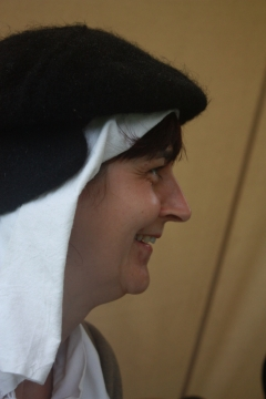 SK at Picton Castle Aug 2008
