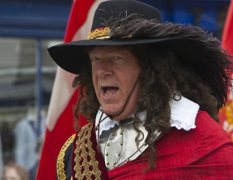 SK Parade in Newbury with Mayor May 2011