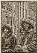 Pikemen at Shaw House