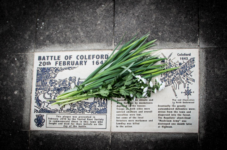 SK Coleford Memorial Feb 2013