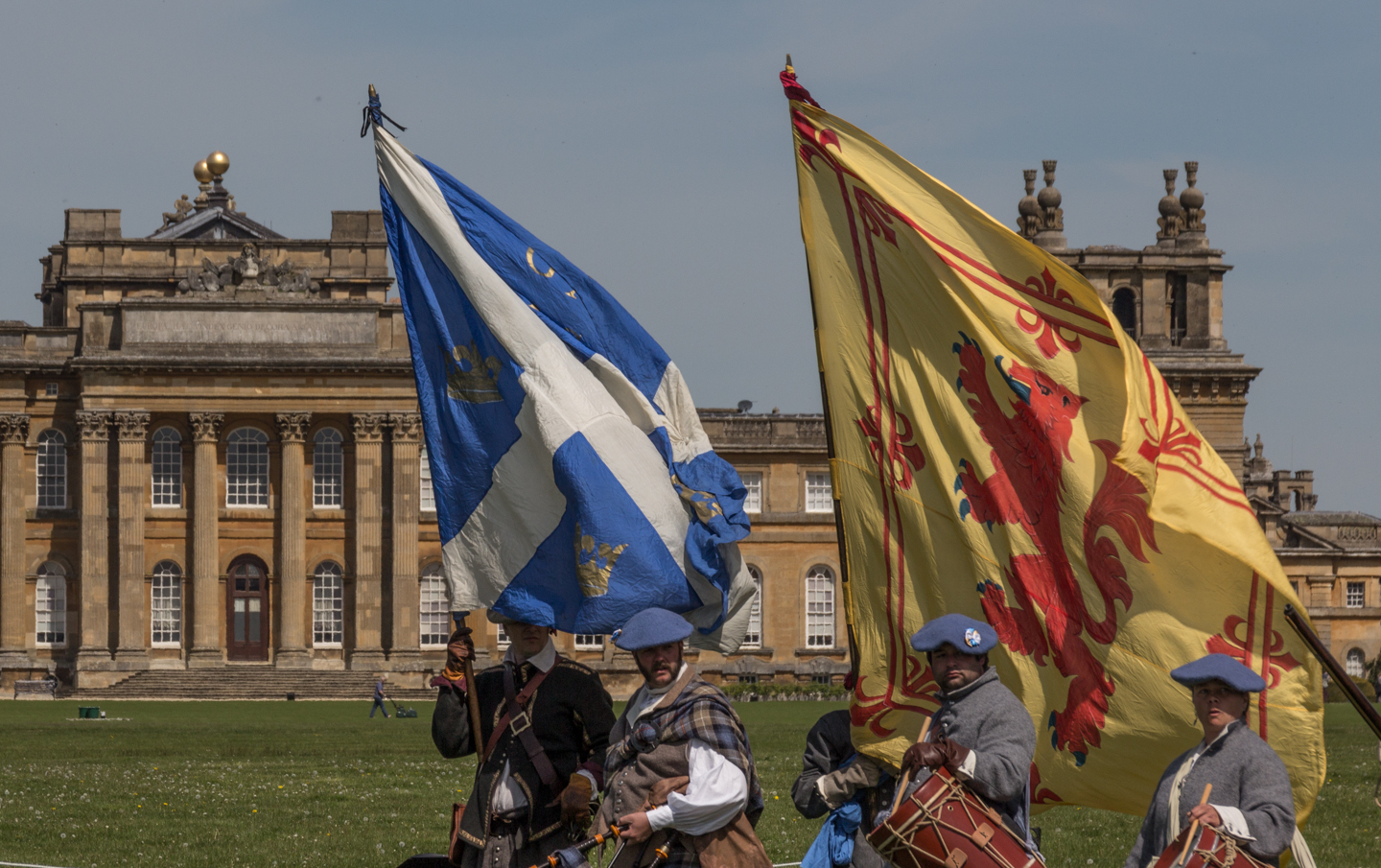 SK at Blenheim Palace May 2013