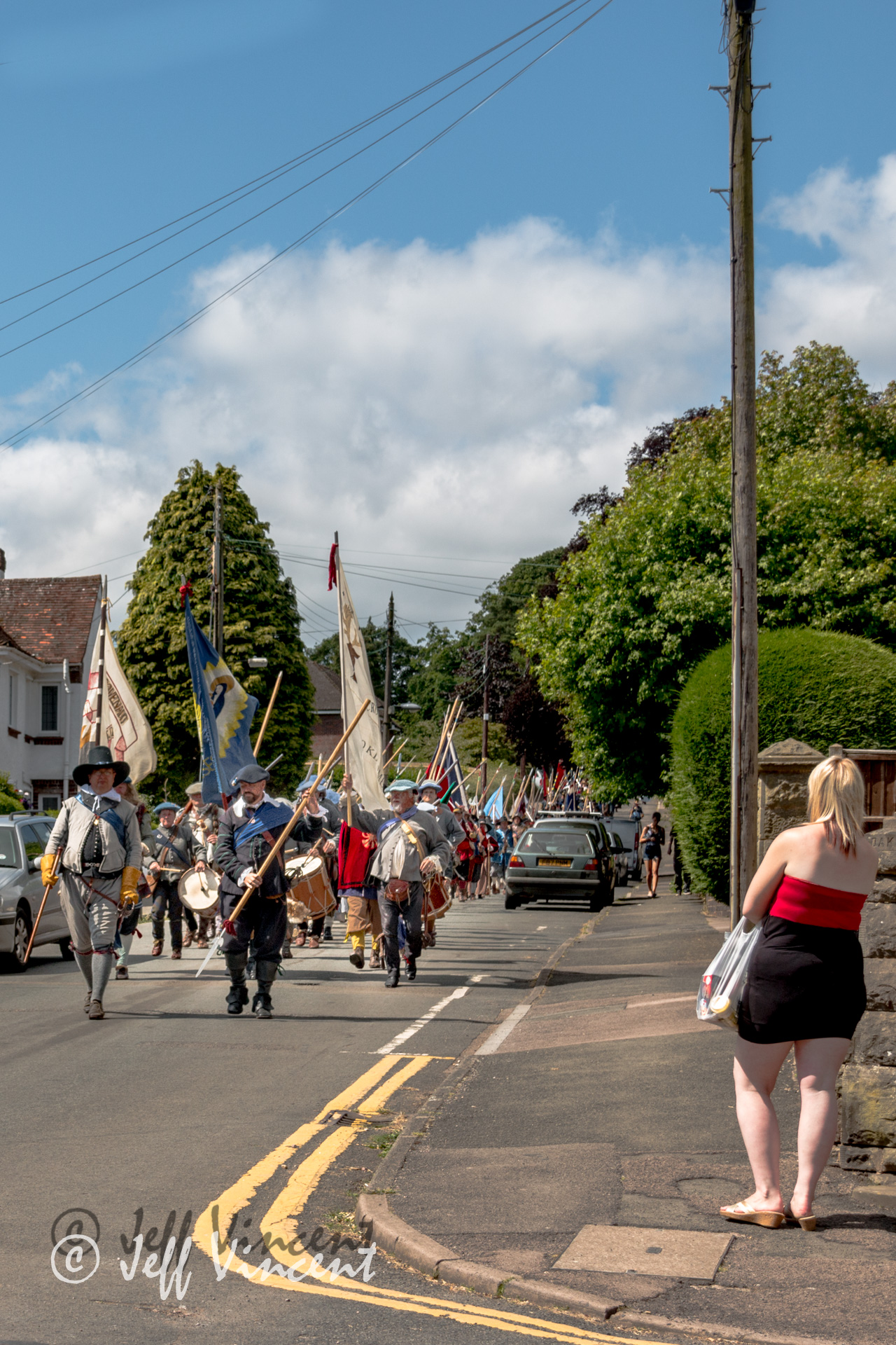 The crowds came to see the parade