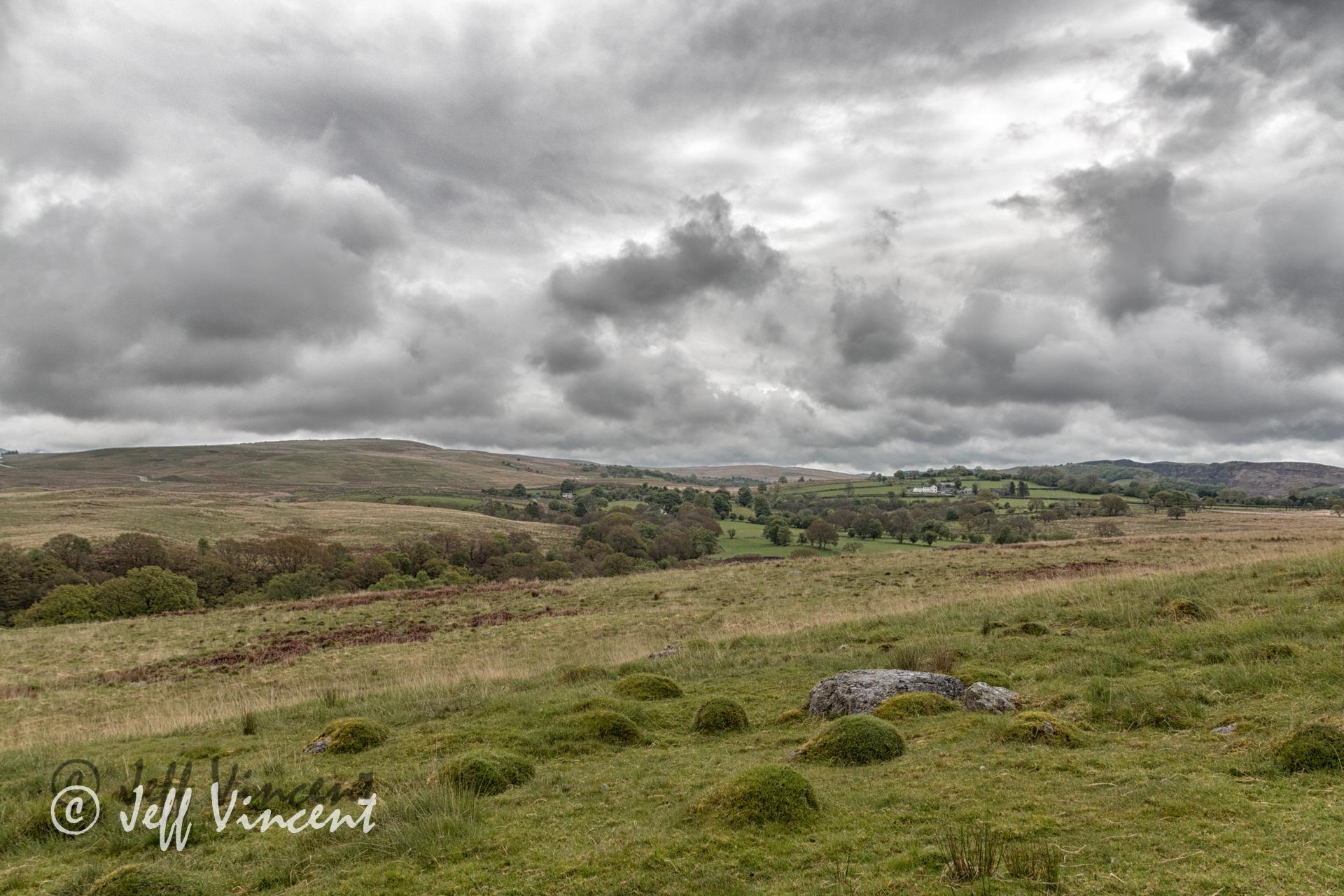 View near Penderyn