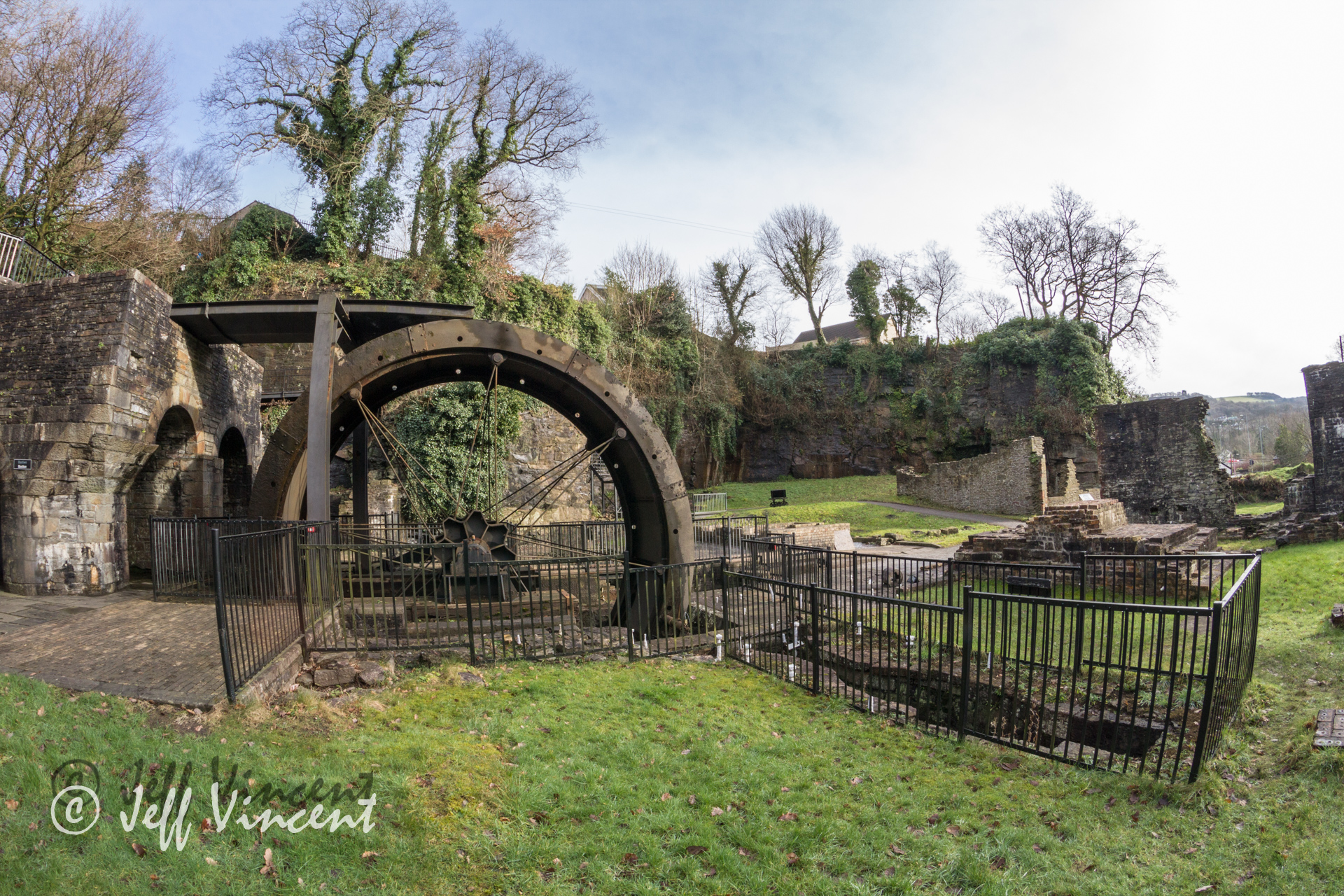 Aberdulais Tin Works - Water Wheel