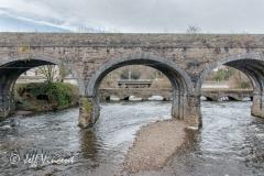 Aberdulais Bridges over the rivers Dulais and Neath