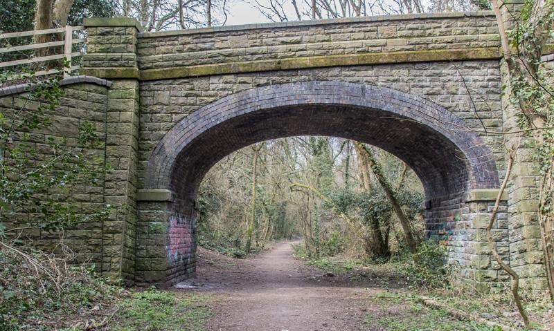Bridge near Coryton Station