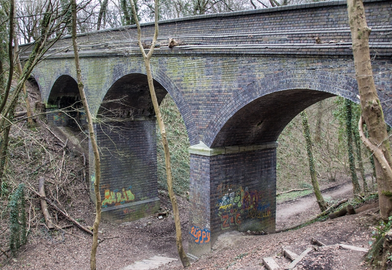 Bridge near Forest Farm