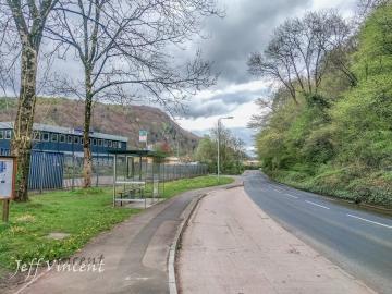 Road from Gwaelod y Garth