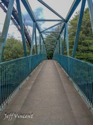 Bridge over River Taff at Radyr