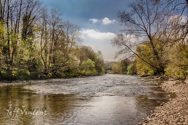 River Taff at Mellingriffith
