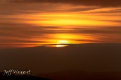 Sunset at Garth