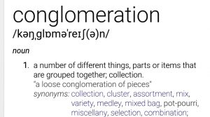 Conglomoration - The Definition