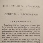 The Tailors Handbook Introduction