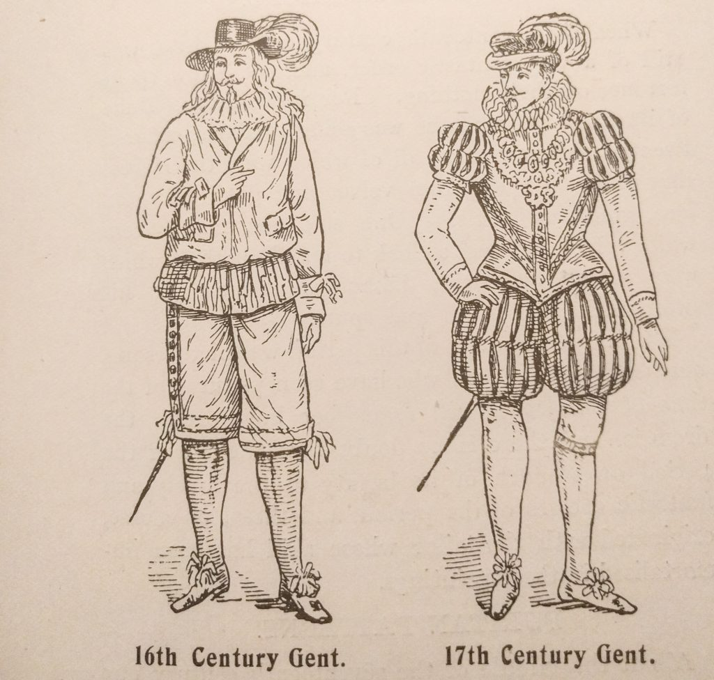 16th Century Gent and 17th Century Gent