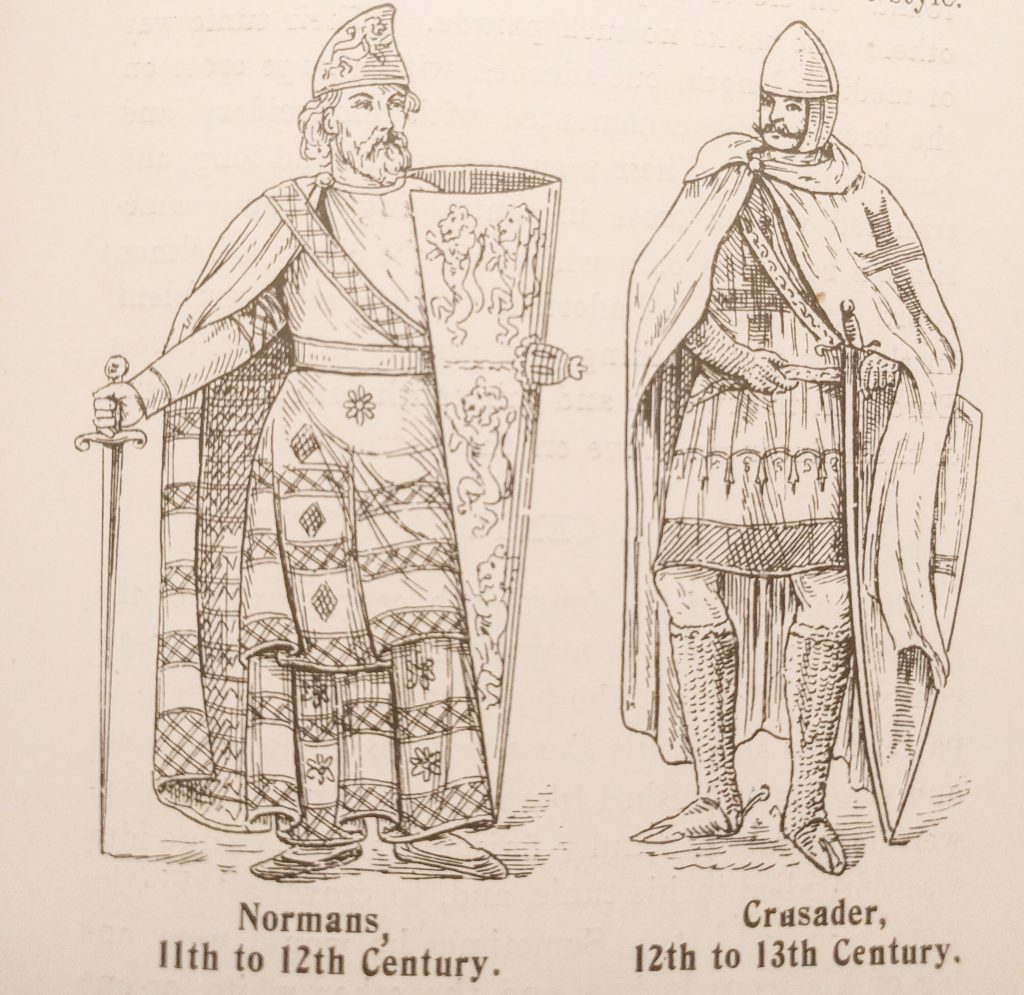 Normans 11th to 12th Century and Crusader 12th to 13th Century