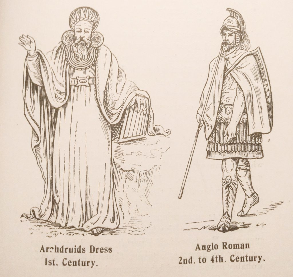 Archdruid 1st century and Anglo Roman 2nd to 4th Century