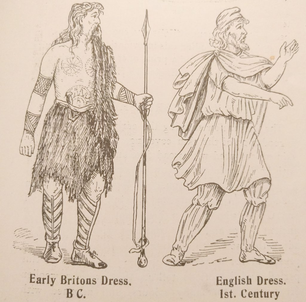 Early Briton and 1st Century English Dress