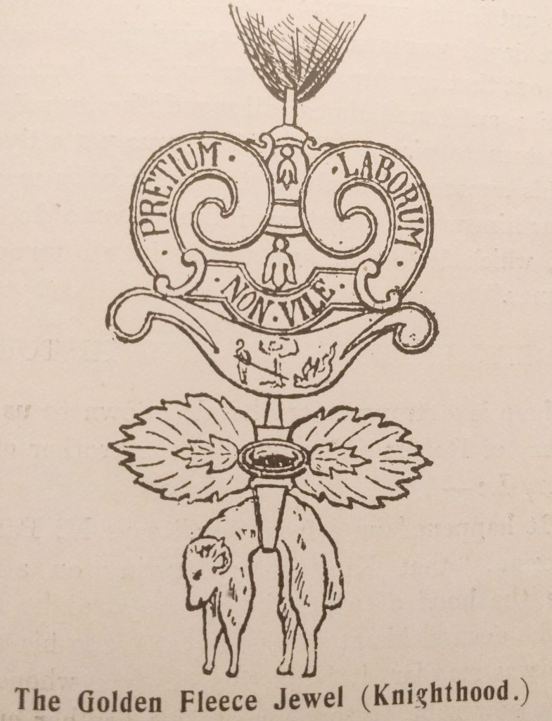 The Golden Fleece Jewel (Knighthood)