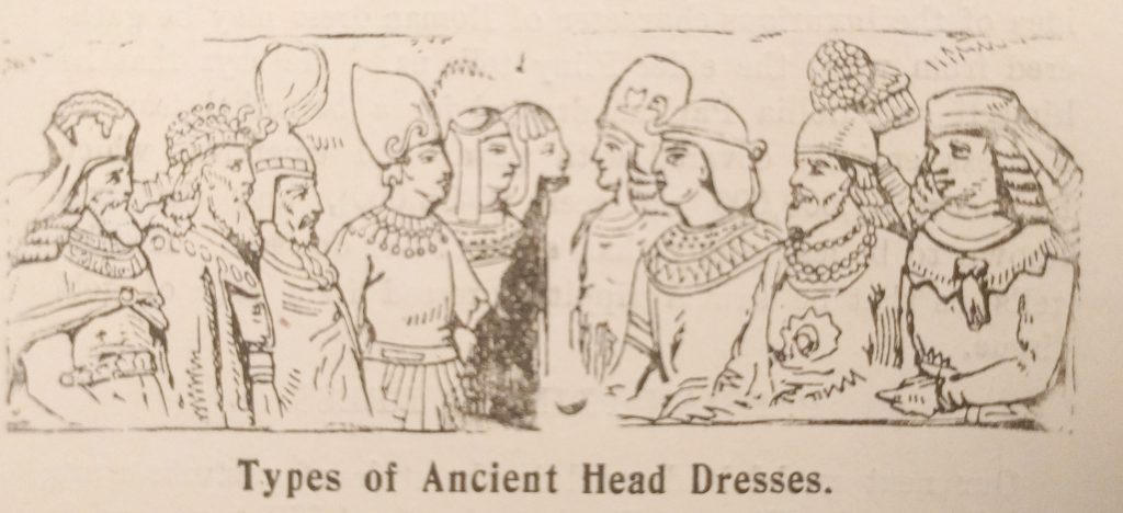 Types of Ancient Head Dresses