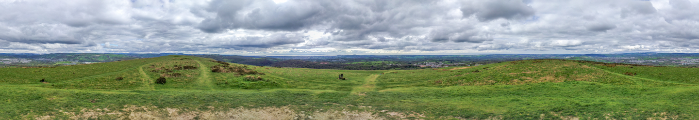 360 Panorama from Garth Hill