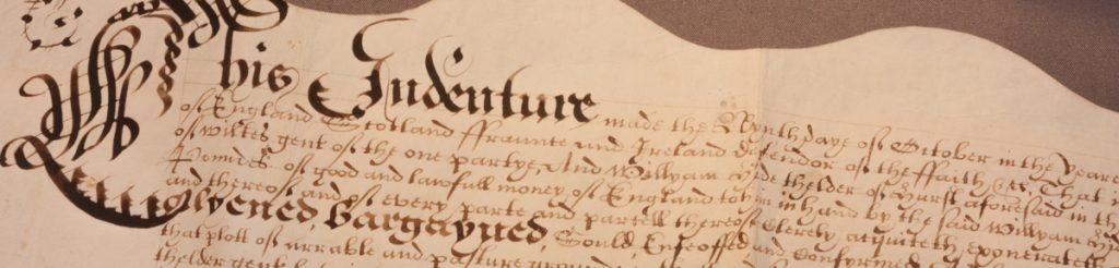 1642 Indenture