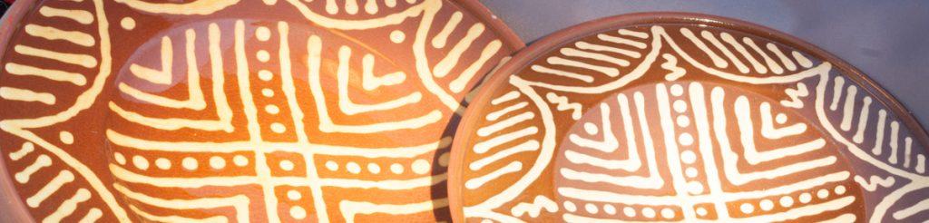 Slipware Plates