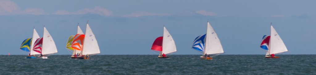 Sailing Boats off Beaumaris