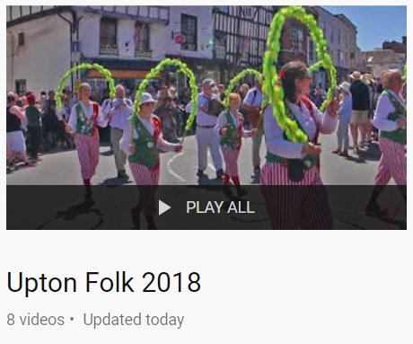 Upton Upon Severn Folk Festival 2018